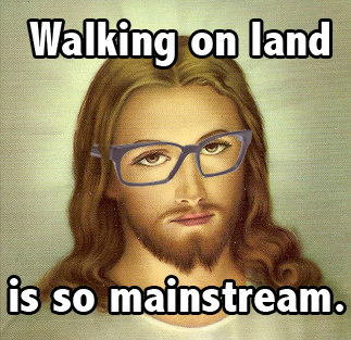 Everyone needs more Hipster Jesus in their life.