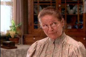 Marilla Cuthbert, folks. Witty, wonderful, and as tactful as a rhino operating a jackhammer.