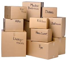 """You'll especially get this if you've moved recently. (Although my boxes were actually labelled things like """"Stuff"""" """"More Stuff"""" and """"Miscellaneous Stuff."""")"""