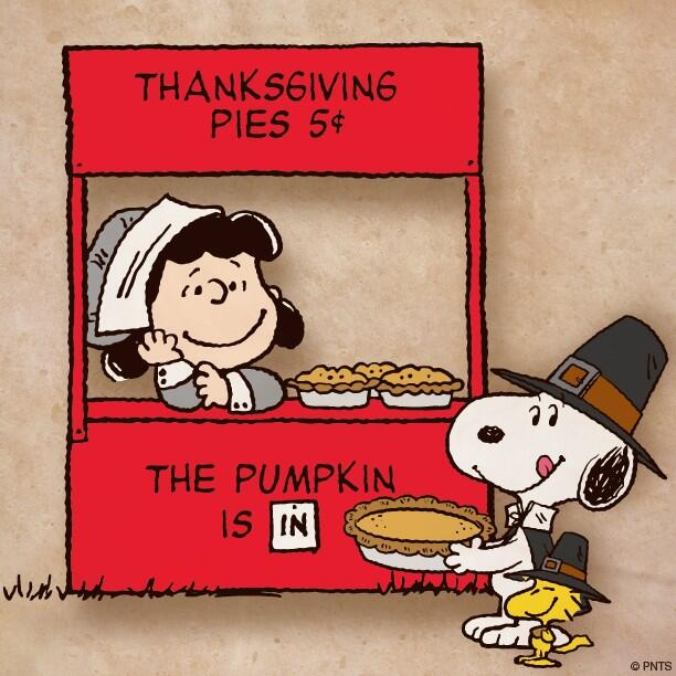 This has no relevance except that I like Thanksgiving and I like Peanuts.