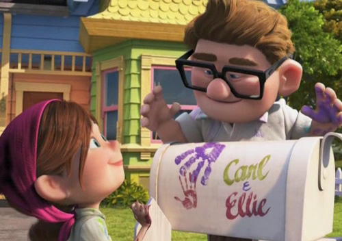 Another great Roy-Walt relationship...and Ellie is easily the Disney character I'm most like.