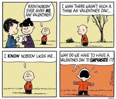 So, basically, I'm not Charlie Brown.