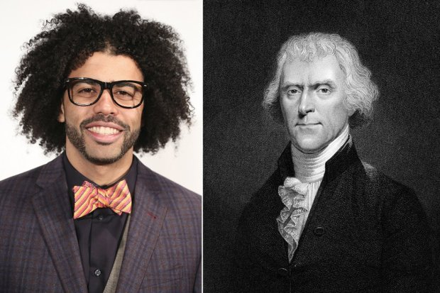 Daveed and Jefferson. Can't you see the resemblance?