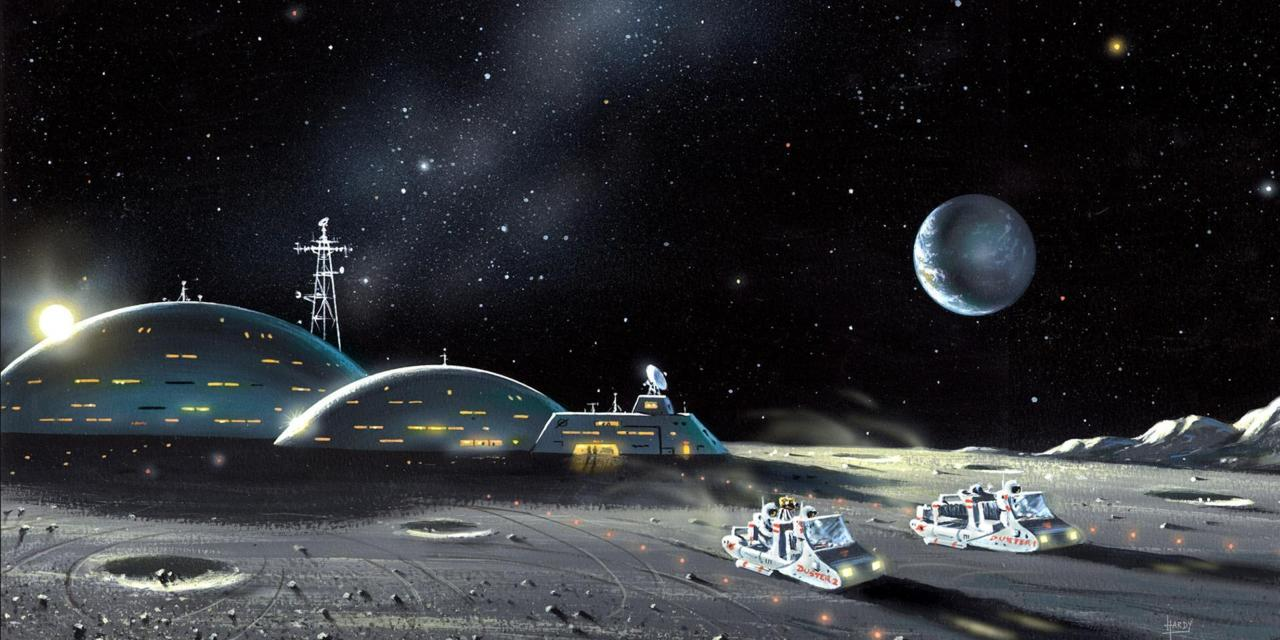 lunar colony in space - photo #14